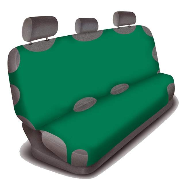 Autotričko Bavlna - zadní Zelená
