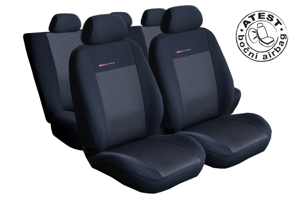Autopotahy Seat Ibiza IV, od r. 2008, černé