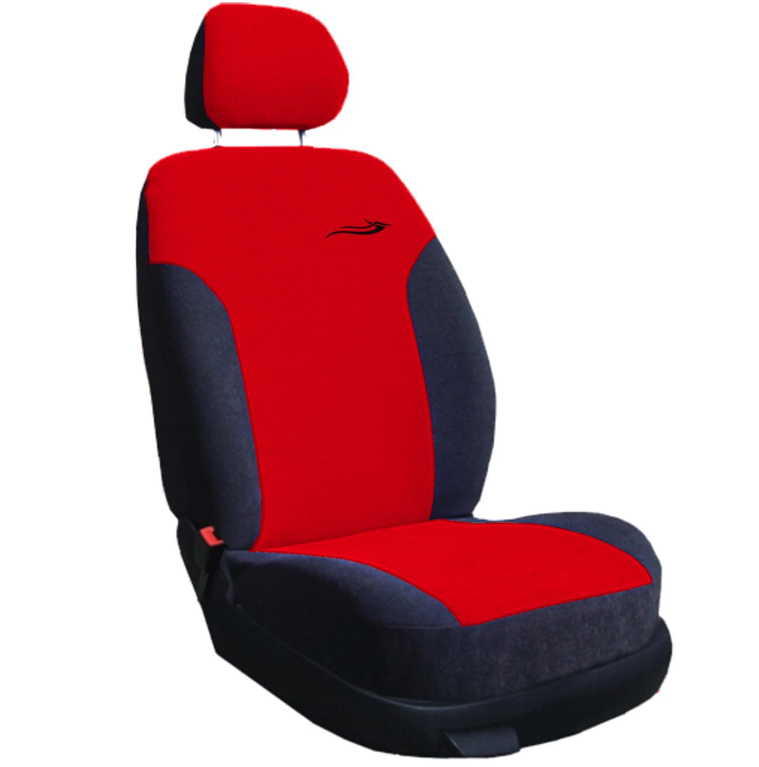 Autopotahy RIVIERA červeno- černé