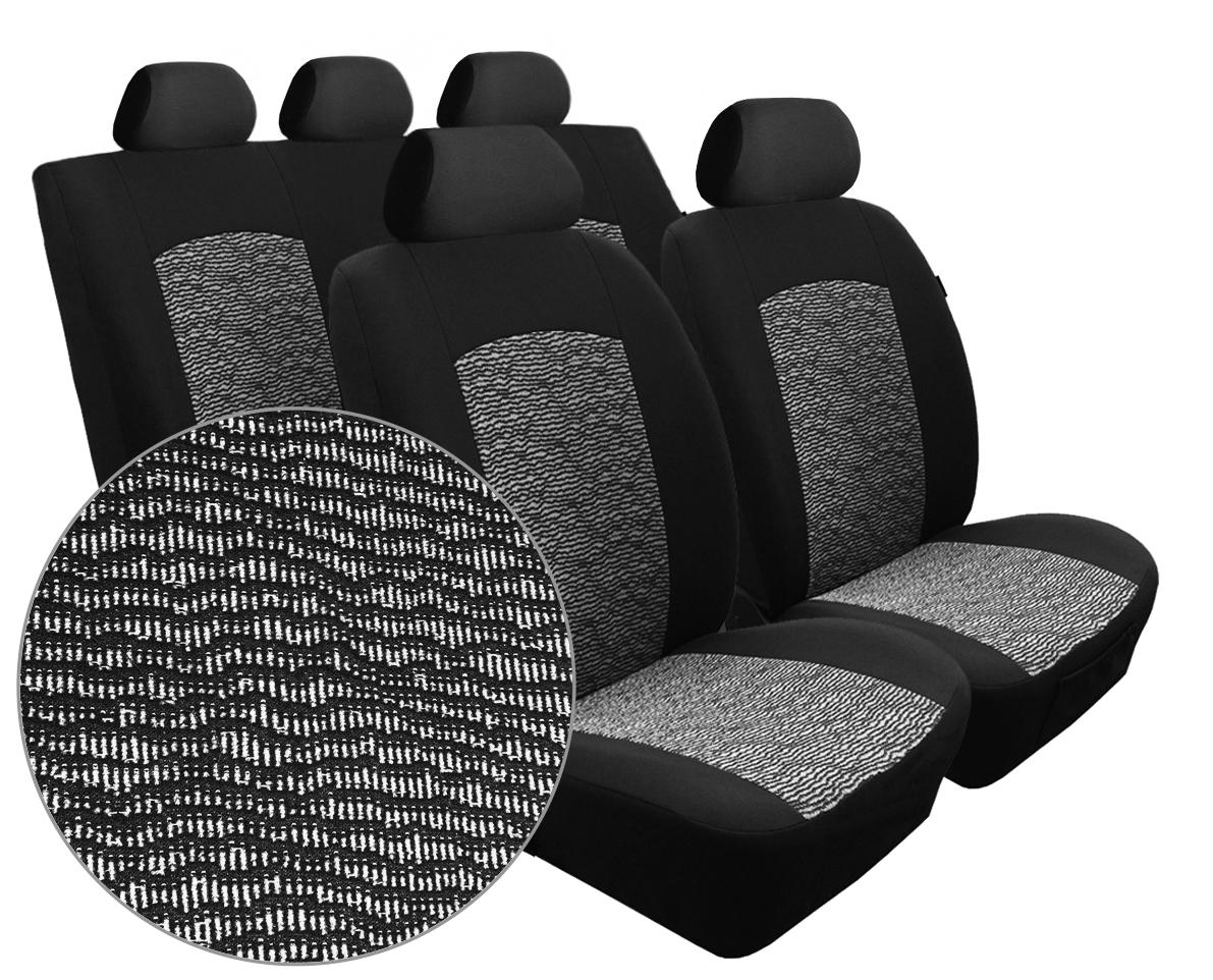 Autopotahy Seat Alhambra, od r. 1994-2010, 5 míst, Dynamic melír