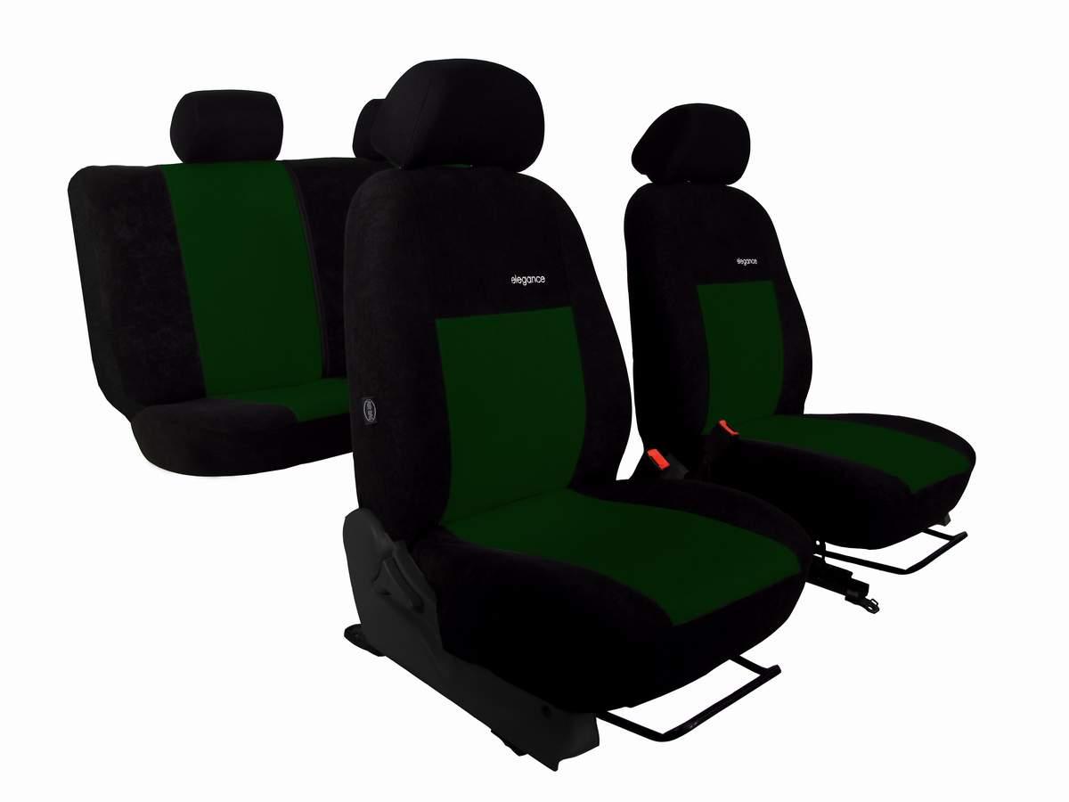 Autopotahy SEAT IBIZA V, od r. 2017, ELEGANCE zelené