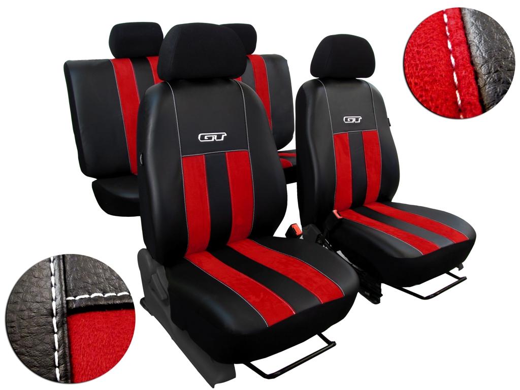 Autopotahy VW TIGUAN II COMFORTLINE, od r. v. 2016, GT červené