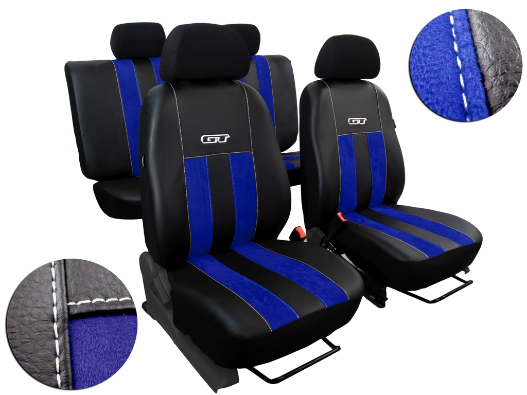 Autopotahy VW TIGUAN II COMFORTLINE, od r. v. 2016, GT modré