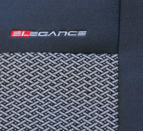 Autopotahy Toyota ProAce, 3 místa, od r. 2007,šedočerné