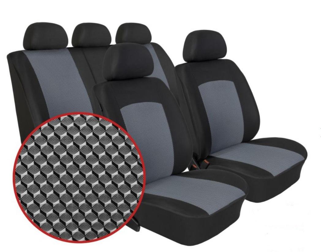 Autopotahy Dacia DUSTER I, od r. 2010-2013, Dynamic šedé