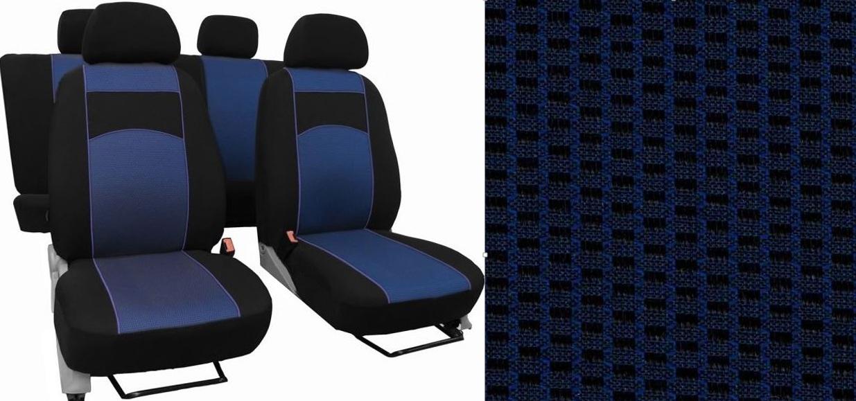 Autopotahy HYUNDAI i30 II, TYP GD, se zadní loketní op.,od 2012-2017, VIP modré