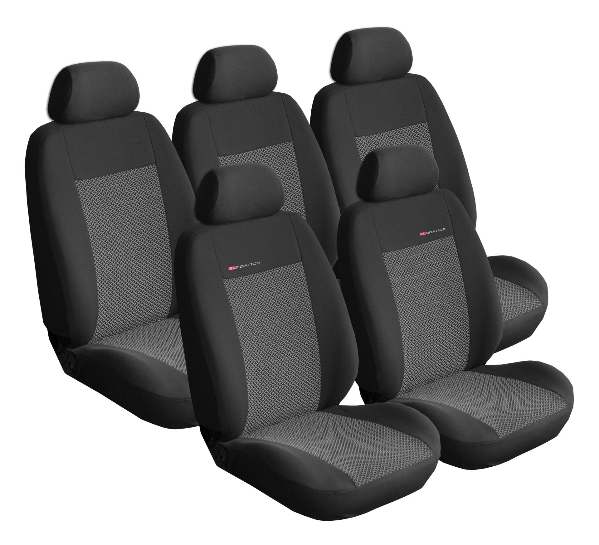 Autopotahy Citroen C4 Picasso I, od r. 2006-2013, 5 míst, šedo černé