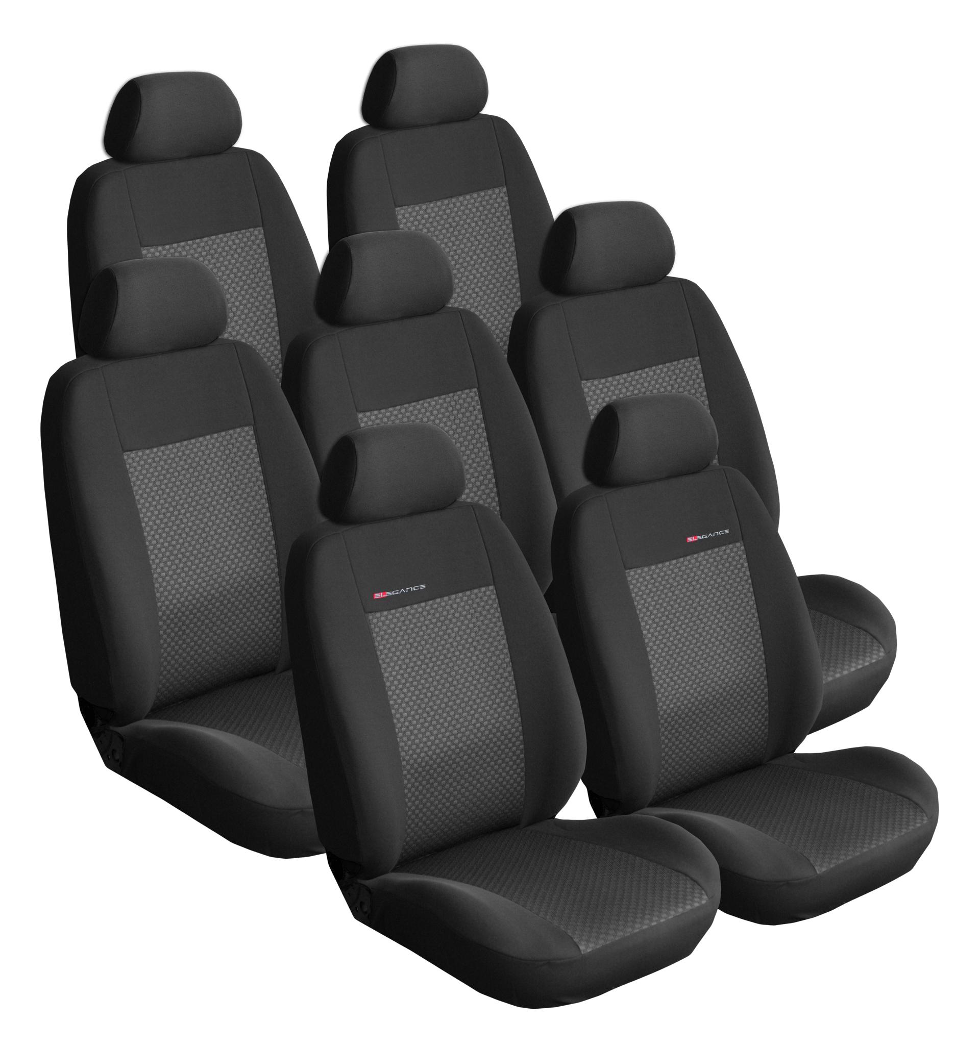 Autopotahy Citroen C4 Picasso II, od r.2010, 7 míst, černé
