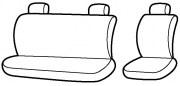 thumb Autopotahy Autopotahy TUNING EXTREME s alcantarou,1+2, sada pro tři sedadla, šedé