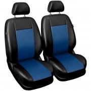 thumb Autopotahy COMFORT kožené, sada pro dvě sedadla, modré