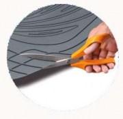 thumb Autokoberce Gumové PVC, s výsokým okrajem AMOND