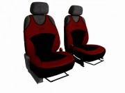 thumb Autopotahy Active Sport Alcantara, sada pro dvě sedadla, vínové