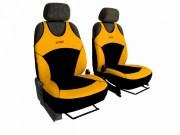 thumb Autopotahy Active Sport Alcantara, sada pro dvě sedadla, žluté