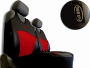thumb Autopotahy Active Sport kožené s alcantarou, sada pro dvě sedadla, cíhlové