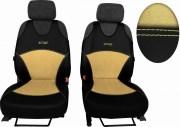 thumb Autopotahy Active Sport kožené s alcantarou, sada pro dvě sedadla, béžové