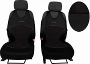 thumb Autopotahy Active Sport kožené s alcantarou, sada pro dvě sedadla, černé