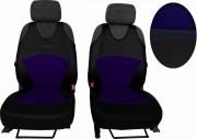 thumb Autopotahy Active Sport kožené s alcantarou, sada pro dvě sedadla, modré