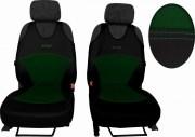 thumb Autopotahy Active Sport kožené s alcantarou, sada pro dvě sedadla, zelené