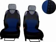 thumb Autopotahy Active Sport kožené, sada pro dvě sedadla, modré