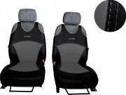 thumb Autopotahy Active Sport kožené, sada pro dvě sedadla, šedé