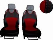 thumb Autopotahy Active Sport kožené, sada pro dvě sedadla, vínové