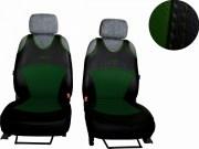 thumb Autopotahy Active Sport kožené, sada pro dvě sedadla, zelené
