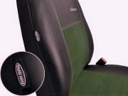thumb Autopotahy ŠKODA RAPID, integrované přední opěrky hlavy,EXCLUSIVE kůže a alcantara zelené