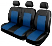 thumb Autopotahy pro BUS, DODÁVKU, 3 místa 1+2, ekokůže COMFORT modré