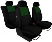 thumb Autopotahy Škoda Octavia I, Tuning Duo, dělené zadní sedadla, zelenočerné