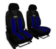 thumb Autopotahy GT kožené, sada pro dvě sedadla, modré