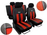 thumb Autopotahy Peugeot Boxer II, 3 místa, stolek, GT kožené s alcantarou, cihlové