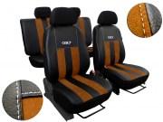 thumb Autopotahy Peugeot Boxer II, 3 místa, stolek, GT kožené s alcantarou, hnědé