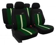thumb Autopotahy kožené GTR zeleno béžové