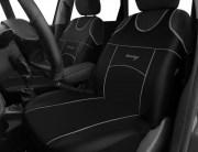 thumb Autopotahy Autopotahy TUNING EXTREME KOŽENÉ, sada pro dvě sedadla, černé
