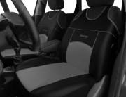 thumb Autopotahy Autopotahy TUNING EXTREME KOŽENÉ, sada pro dvě sedadla, šedé
