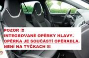 thumb Autopotahy ŠKODA OCTAVIA III, integrované přední opěrky hlavy,AUTHENTIC VELVET černohnědé