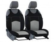 thumb Autopotahy Autopotahy TUNING EXTREME s alcantarou, sada pro dvě sedadla, šedé