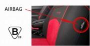 thumb Autopotahy Autopotahy TUNING EXTREME s alcantarou, sada pro dvě sedadla, modré