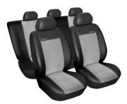thumb Autopotahy Seat Leon II, od r. 2005, Eco kůže + alcantara šedé